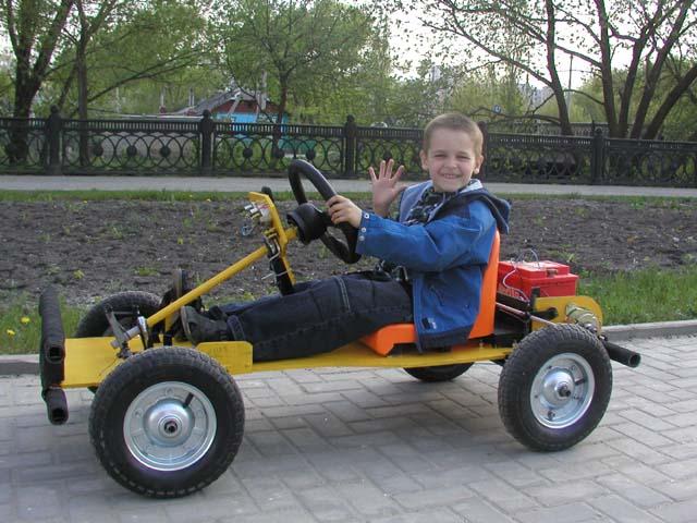 Детская электрическая машина своими руками